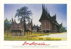 Indonesia - TRADITIONAL HOUSES NS