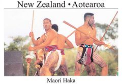 New Zealand - Maori Haka ND