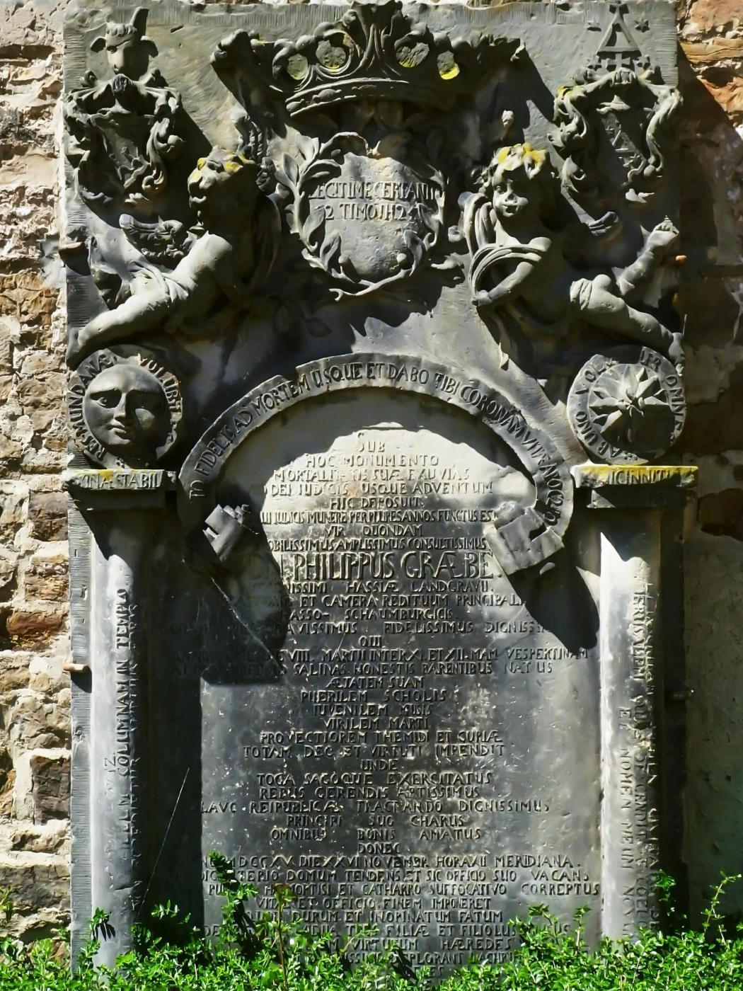 Inschrift JakobiKirche