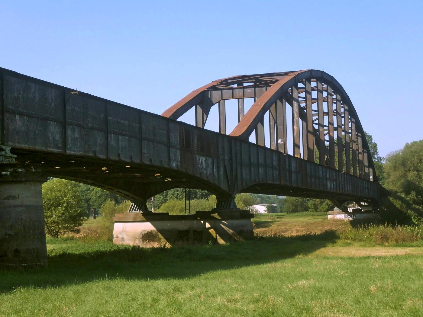 Eisenbahnbrücke Höxter