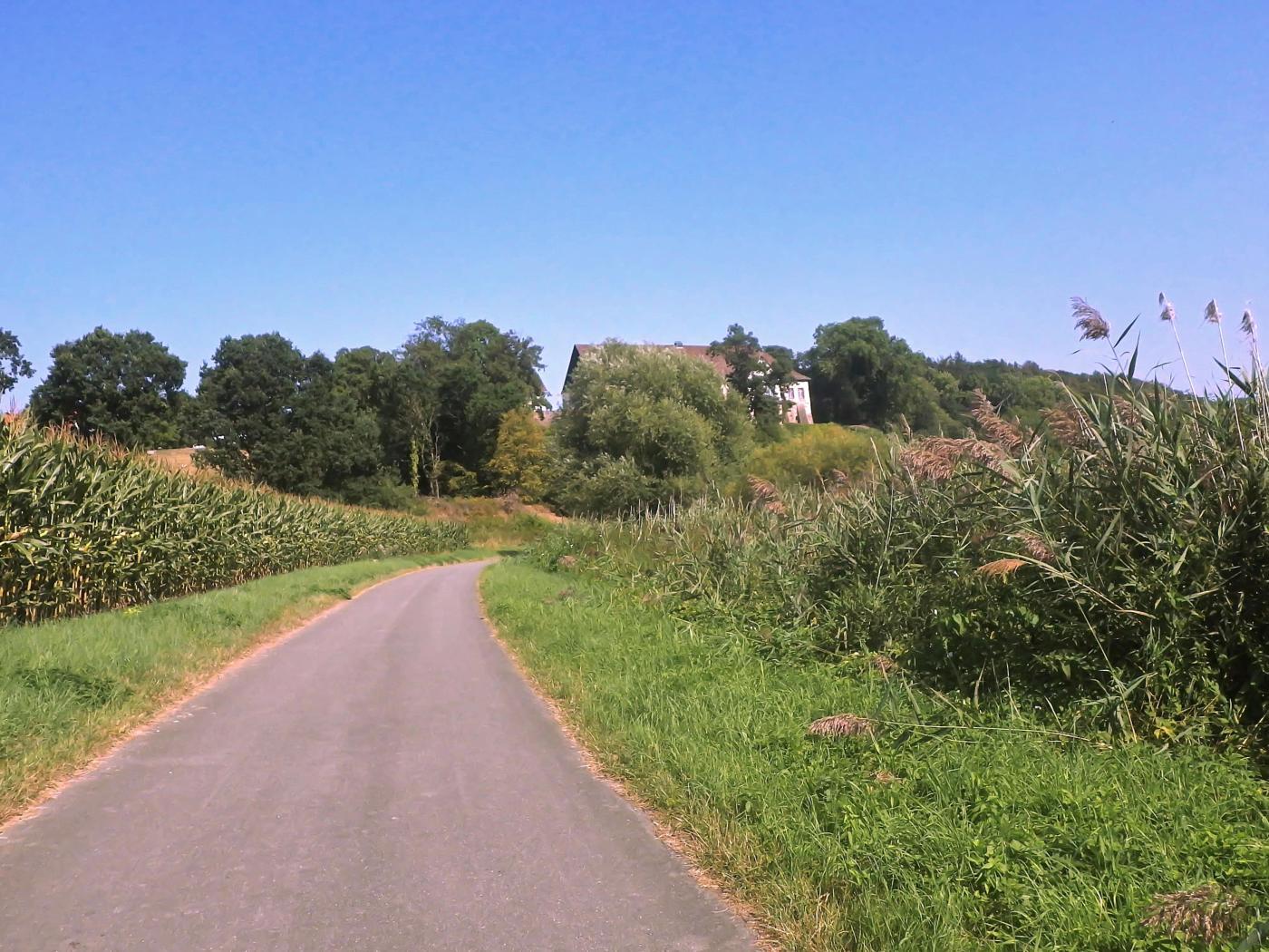 Weserradweg Blankenau