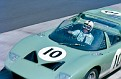 Nurburgring 1965-Richard Attwood/John Whitmore Ford GT40 Roadster. Ford Advenced Vehicles.