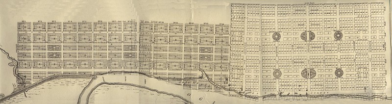 Downtown Brunswick, 1847