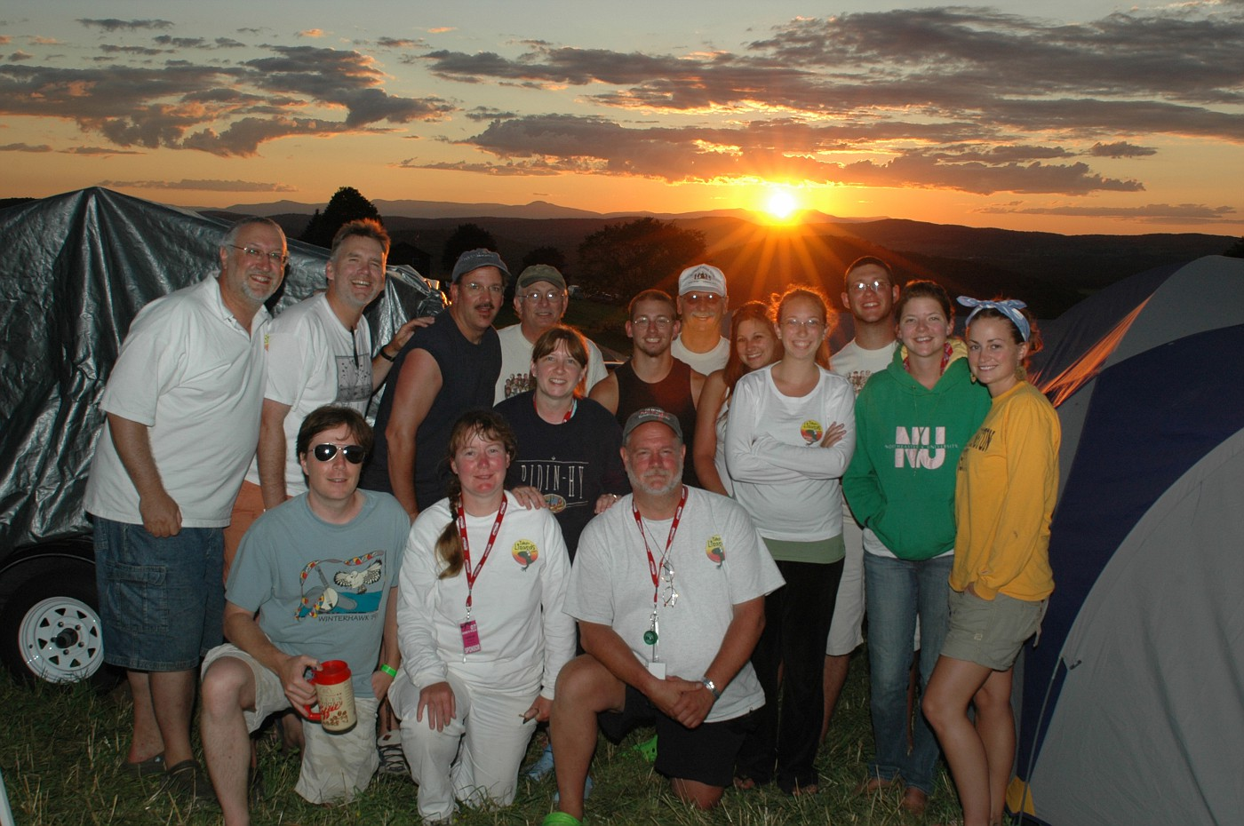 The last sunset at Grey Fox 2007