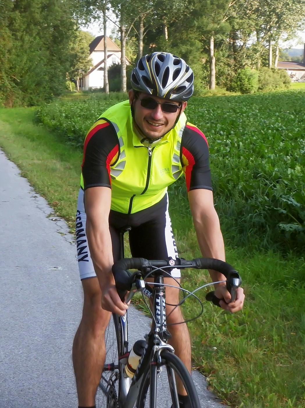 Rennradelnder Mountainbiker :-)