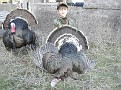 Kyle w Youth Hunt Turkey #2 40712