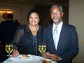 Mrs Maxinne Black-Arias, Dr Andre Valentin Chief of Staff Jackson Memorial Hospital