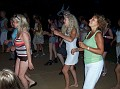 Line dancing to the Electric slide