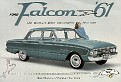 1961 Ford Falcon, Brochure. 01