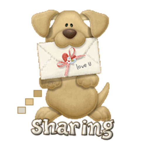 Sharing - PuppyLoveULetter