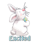 Excited - HippityHoppityBunny