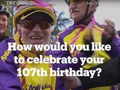 VIDEO: Wie feierst du deinen 107. Geburtstag?