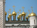 Moscow, Kremlin - domes on the church