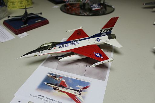 2-YF-16 Fighting Falcon MTurco 3