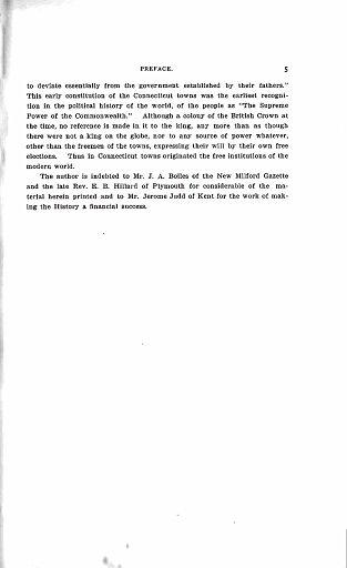 005 - HISTORY OF KENT, CONNECTICUT - PREFACE