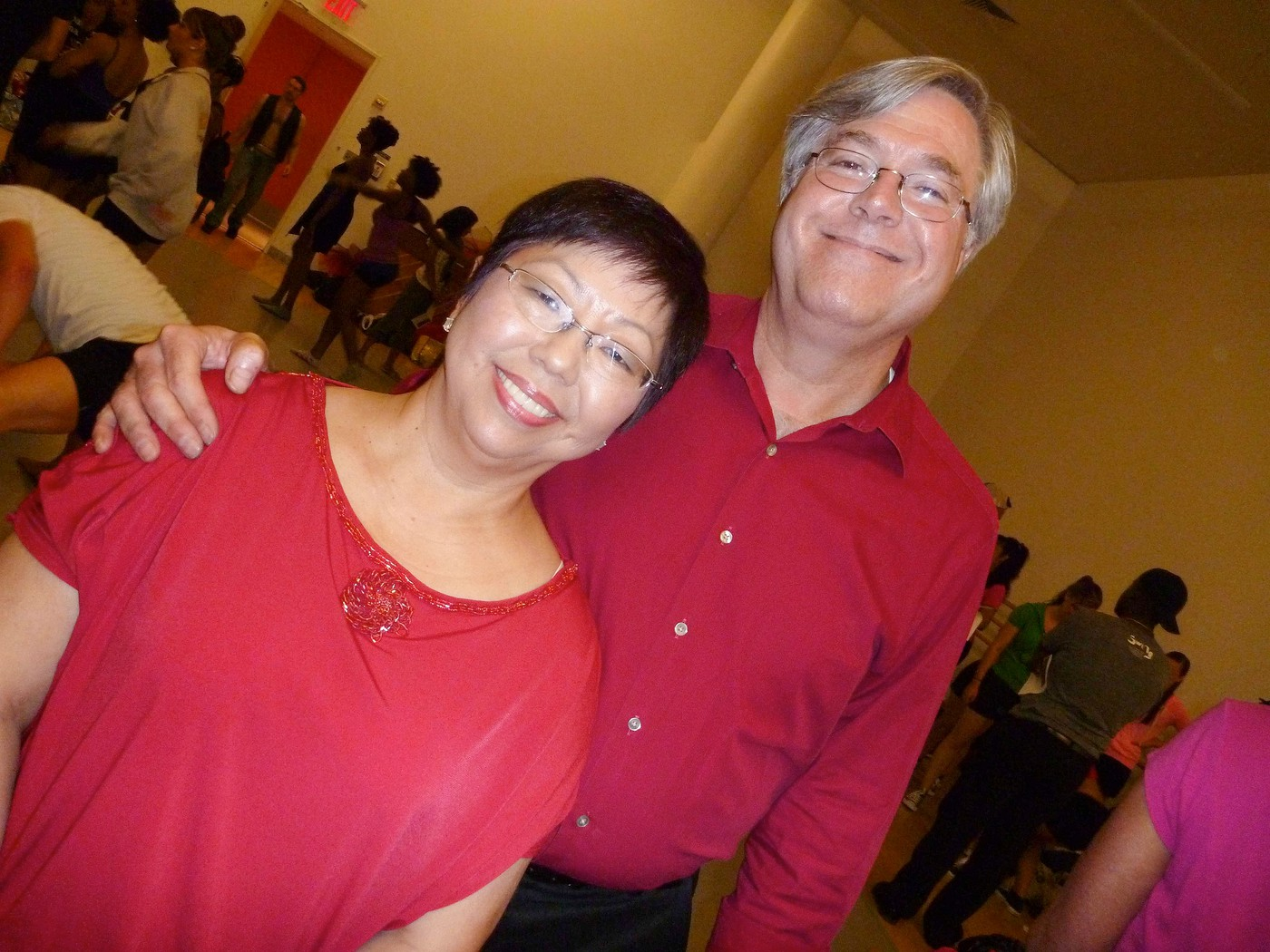 Doug & Mary Holaday - Connecitcut West Coast Swing Performance Group at Alvin Ailey Ciitgroup Theater