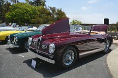 1957 Aston Martin DB 2-4 fixed gead coupe owned by Paul Colony and 1951 Alfa Romeo C2500 convertible owned by Jim Gianopulos DSC 1857