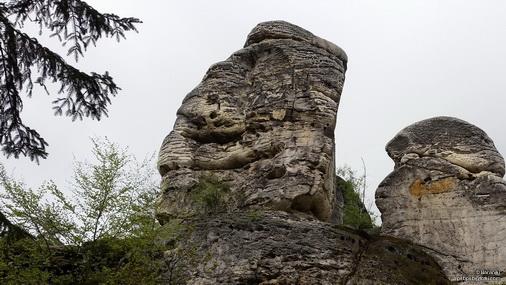 Głowa Azteka?