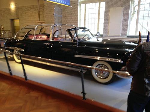 US - President Eisenhower's 1950 Lincoln Limo