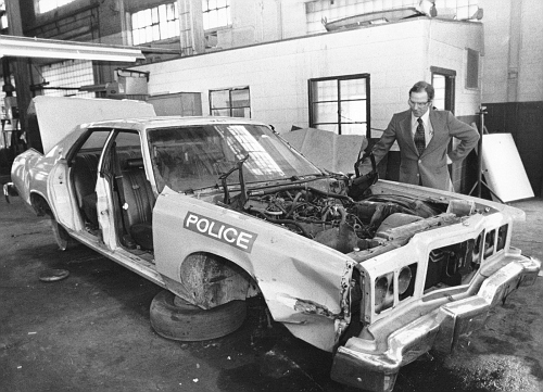 OH - Cleveland Police 1978 Ford
