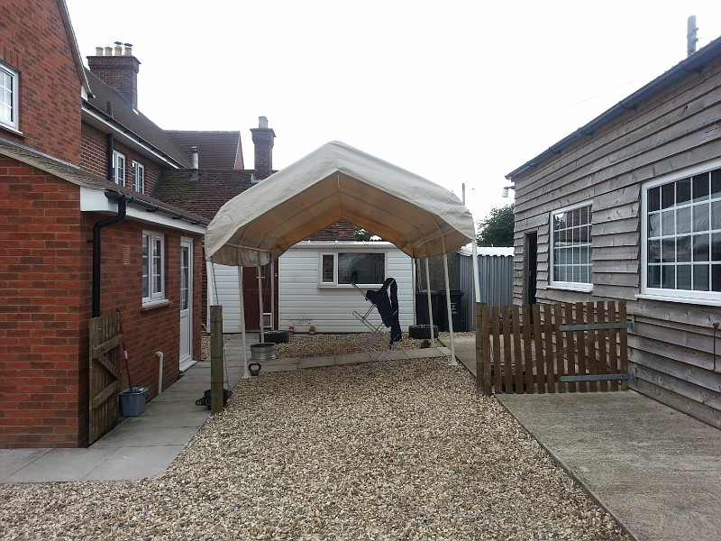 Temporary Garages For Winter : Winter storage temporary garage page general