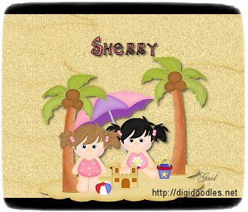 Sherry-gailz-girls at beach