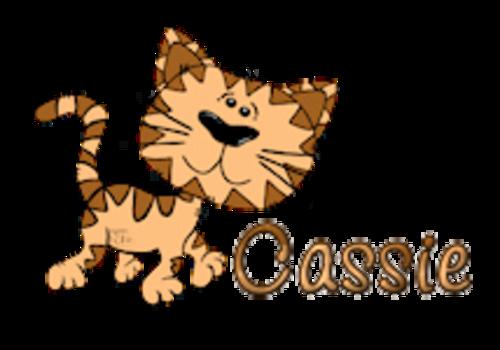 Cassie - CuteCatWalking
