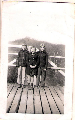 54-Great Uncles Clement, Anos Laxton and Great Aunt Louine Laxton Dobbs